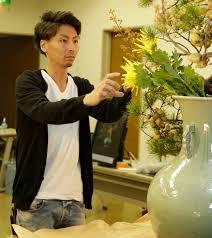 小原流5世家元・小原宏貴(2016年、NAOTAカンファレンスにて)