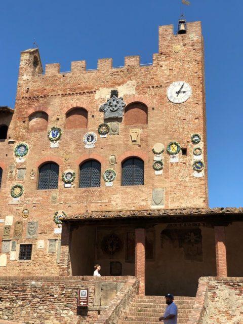 チェルタルドのパラッツォ Palazzo Pretorio in Certaldo