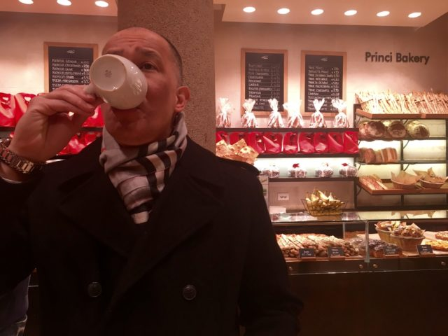 Princi Milanoの店内