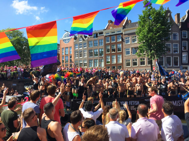 Euro Gay Pride Parade in 2016