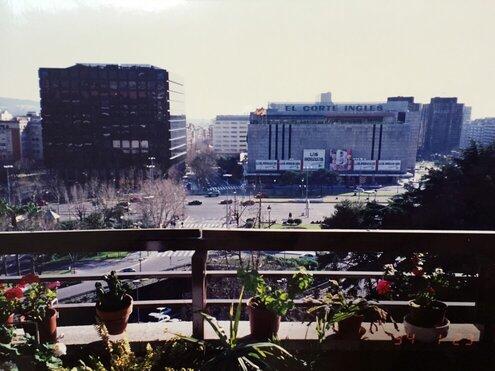 当時住んでいた自宅テラスから見たDiagonal通り