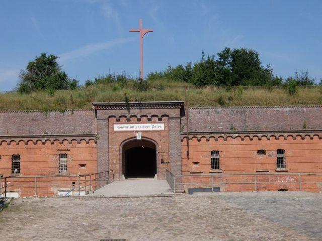 ポーランド東部の町ポズナンにある旧ナチス強制収容所跡