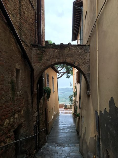 Alley of Montepulciano