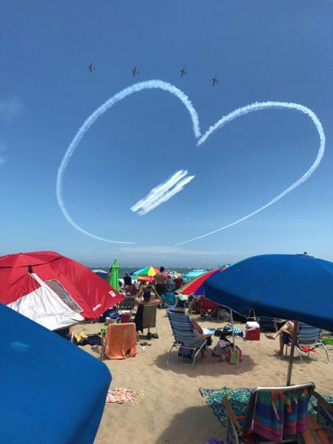 青空に描かれたOpen Heart
