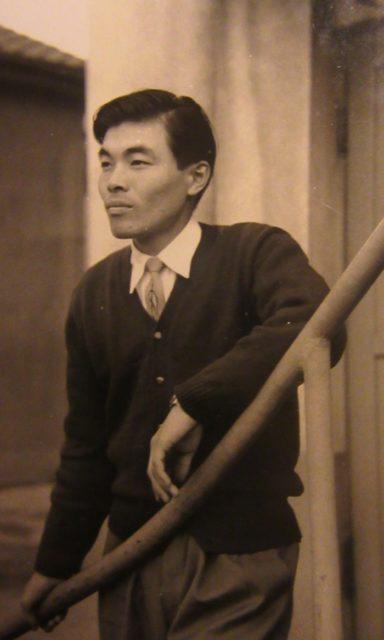 広島大学卒業当時の父