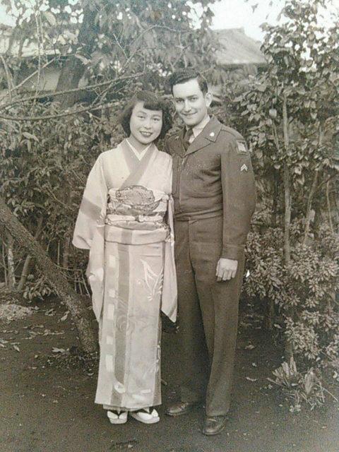 祖父母の結婚記念写真(1951年)