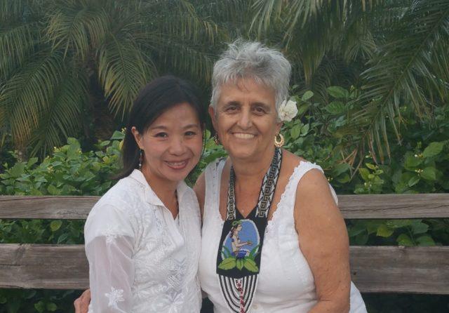 ロジータ(右 Dr. Rosita Arvigo)と私