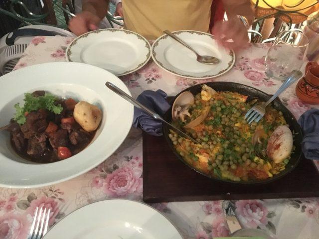 Seafood paella at Ivan Chef Justo