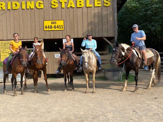 最後に並んで撮影、馬さんに感謝
