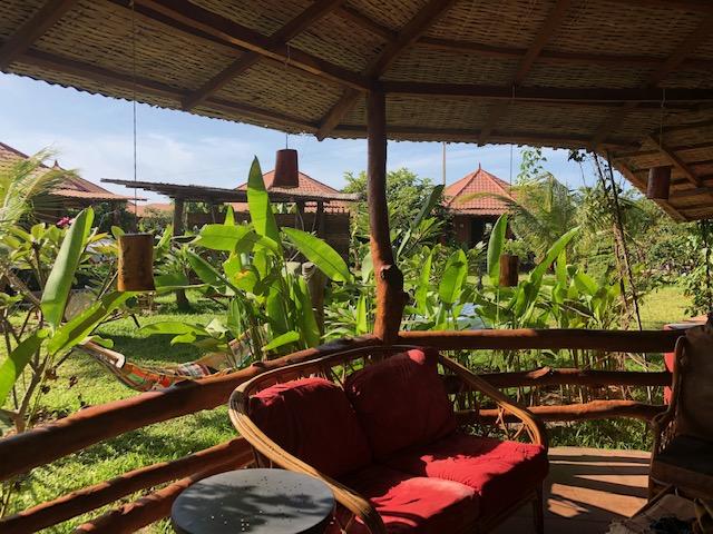 MAMA AFRICAゲスト・ハウスのバルコニー