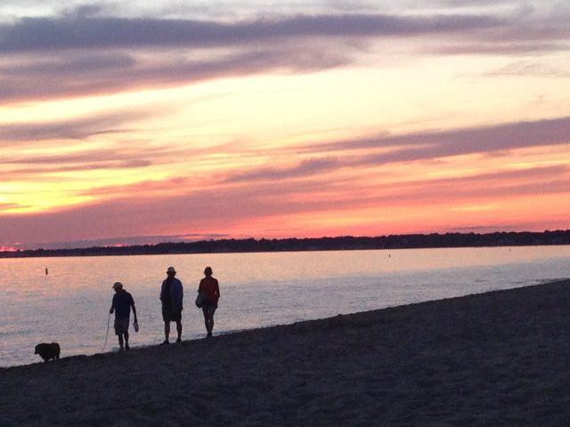 Hammonasset State Parkのビーチ