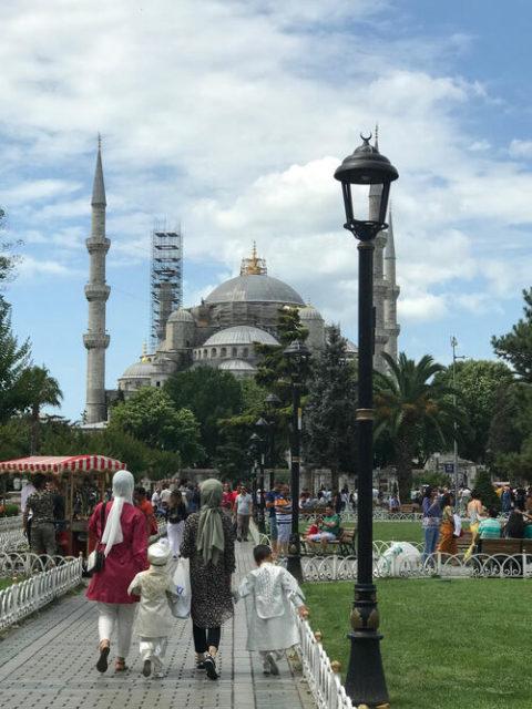 現在は「イスラームの宗教的施設」となったアヤソフィアも、訪問した2019年にはまだ「博物館」だった