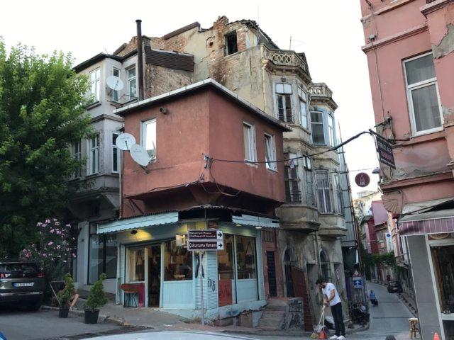 イスタンブールの下町