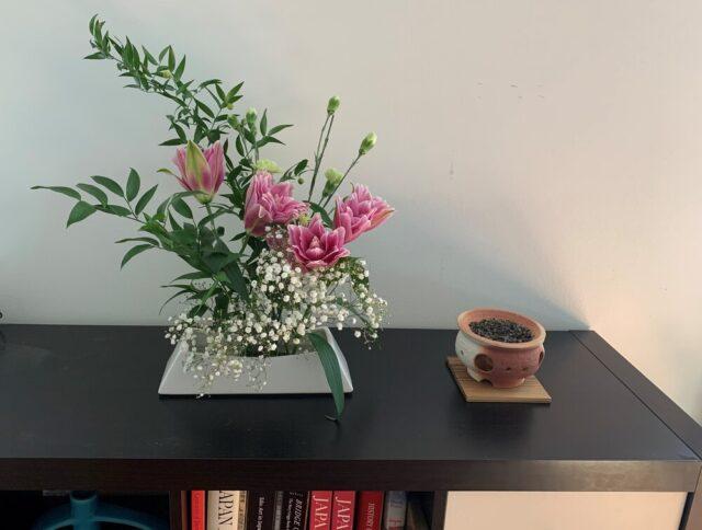 私流の生け花は絶好のメディテーション