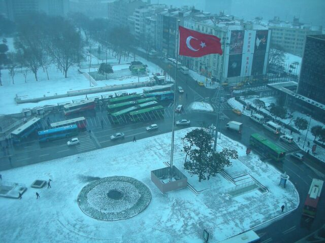 イスタンブールの四季 冬